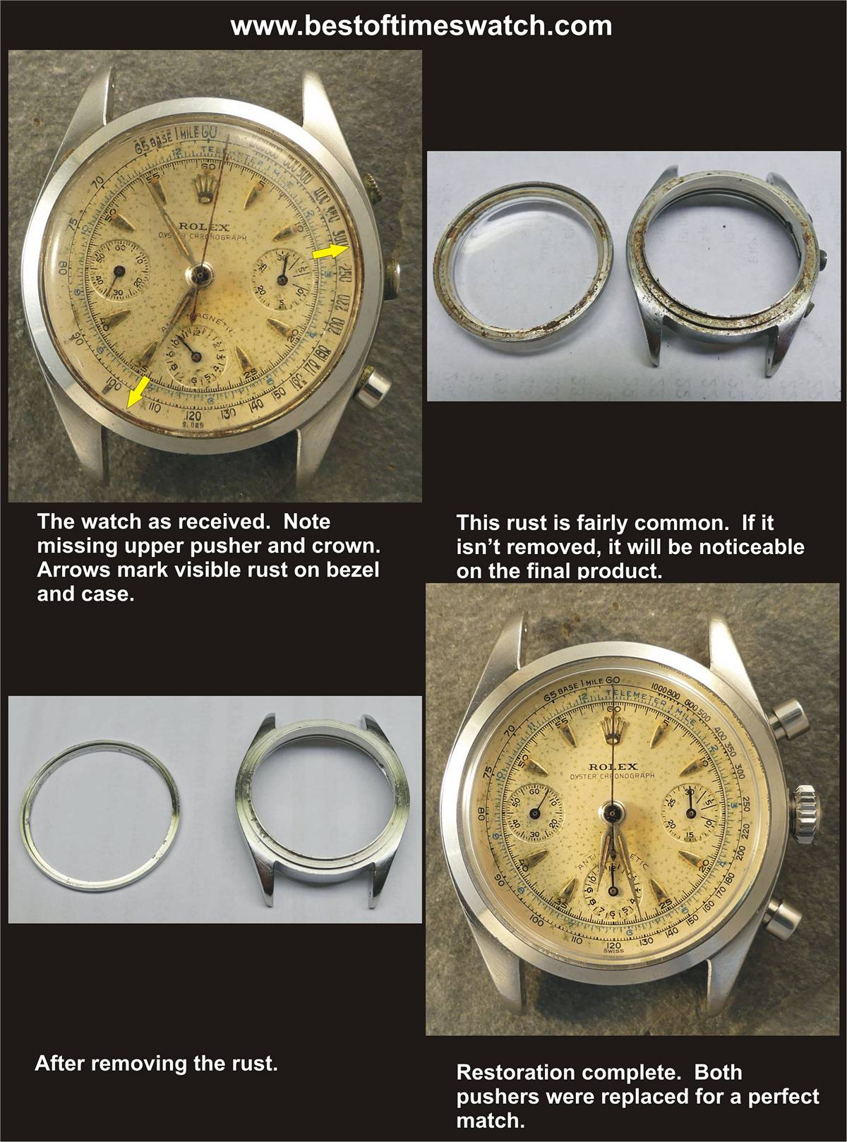 repeater watch repair